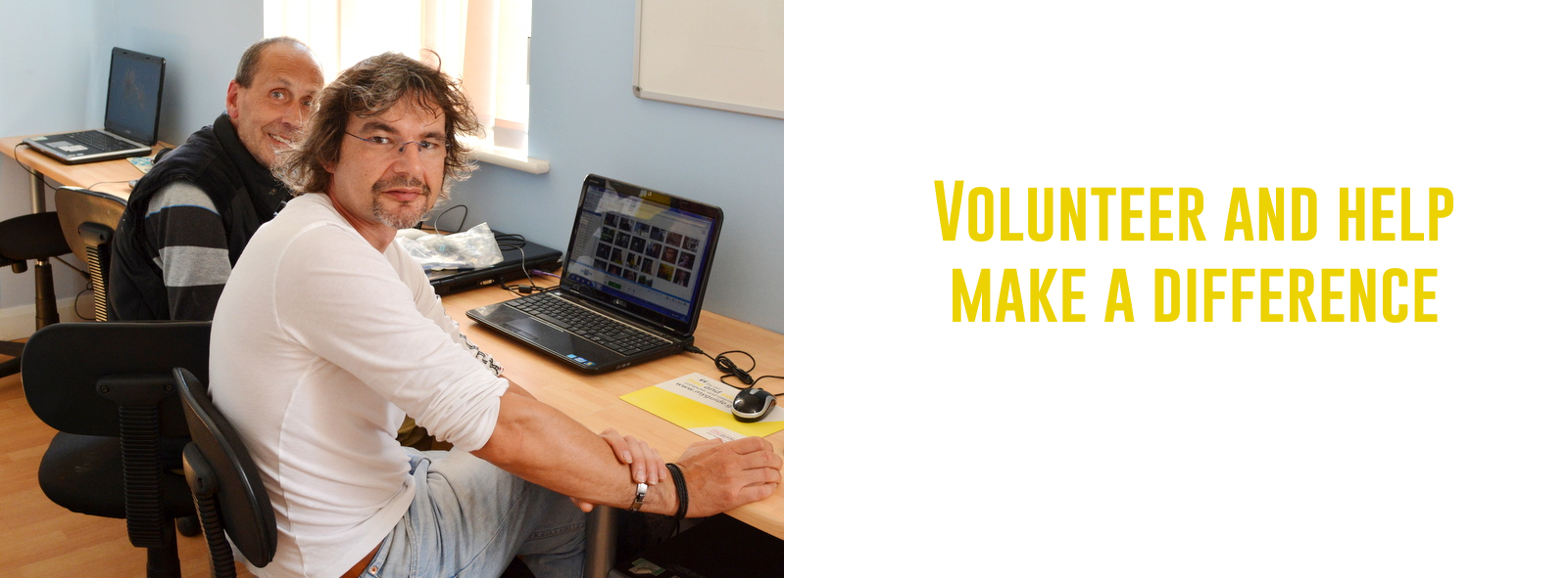 Gain Real Volunteering experience in a creative environment
